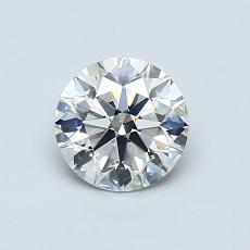 0.75 Carat 圓形 Diamond 理想 G SI1
