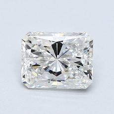 0.90-Carat Radiant Diamond Very Good F VVS2