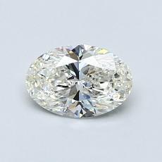 推荐宝石 3:0.71克拉椭圆形切割钻石