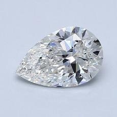 Recommended Stone #2: 0.91-Carat Pear Cut Diamond