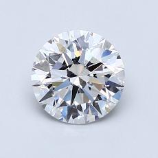 1.01 Carat 圓形 Diamond 理想 D VS2