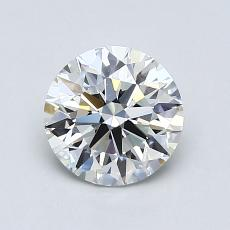 1.02-Carat Round Diamond Ideal F VVS2