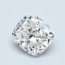 推薦鑽石 #4: 1.01  克拉墊形切割鑽石