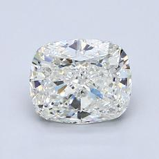 1.31-Carat Cushion Diamond Very Good H VS1
