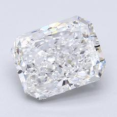 3.01-Carat Radiant Diamond Very Good E VS2