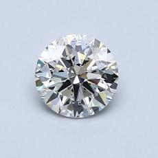 0.75-Carat Round Diamond Ideal J SI2