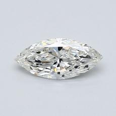 Pierre recommandée n°3: Diamant taille princesse 0,41 carat