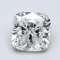 目标宝石:1.51 克拉垫形钻石