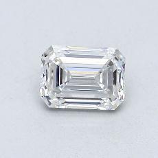 推荐宝石 2:0.55 克拉祖母绿切割钻石