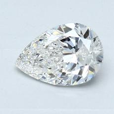 Recommended Stone #1: 0,90-Carat Pear Cut Diamond