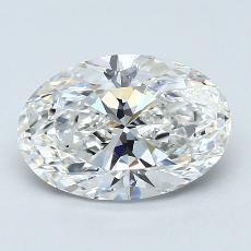 推薦鑽石 #1: 2.01  克拉橢圓形 Cut