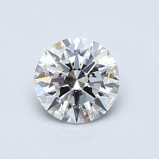 0,70 Carat Rond Diamond Idéale F VS1