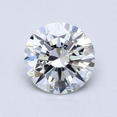 0.70-Carat Round Diamond Ideal F IF