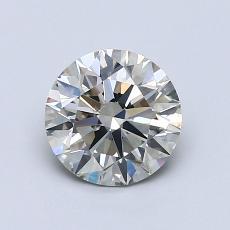 1.05 Carat 圆形 Diamond 理想 K SI1