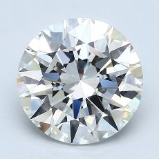 Recommended Stone #2: 3.18-Carat Round Cut Diamond