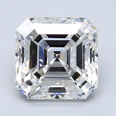 推薦鑽石 #2: 2.52  克拉上丁方形鑽石