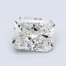 Pierre recommandée n°1: Diamant Taille radiant de 1,01carat