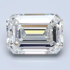Recommended Stone #3: 4.01-Carat Emerald Cut Diamond