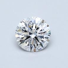 0,70 Carat Redondo Diamond Ideal E VS1