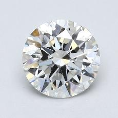 1.10-Carat Round Diamond Ideal E VS2