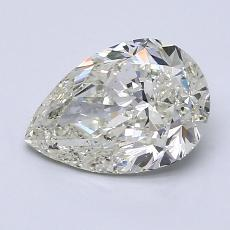 Recommended Stone #3: 1.50-Carat Pear Cut Diamond