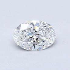 Recommended Stone #2: 0.52-Carat Oval Cut