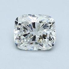 1.01-Carat Cushion Diamond Very Good H IF