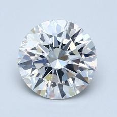 1.50 Carat 圓形 Diamond 理想 G SI1