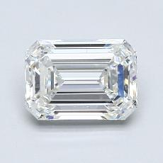 Recommended Stone #2: 1.20-Carat Emerald Cut Diamond