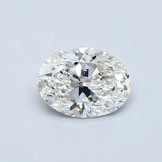 推薦鑽石 #4: 0.59 克拉橢圓形切割鑽石