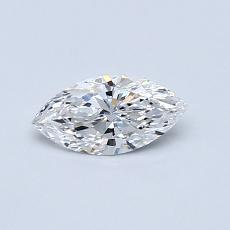 0.36-Carat Marquise Diamond Very Good F VS1