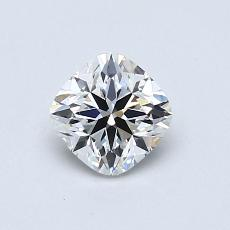 オススメの石No.1:0.66カラットのクッションカットダイヤモンド