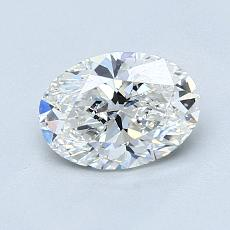 Pierre recommandée n°4: Diamant taille ovale 1,01 carat
