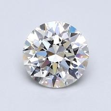 1.01 Carat 圆形 Diamond 理想 G VVS1