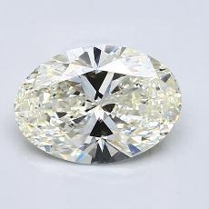 推薦鑽石 #3: 1.71  克拉橢圓形切割