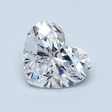オススメの石No.2:1.01カラットのハートカットダイヤモンド