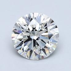 1.50 Carat 圓形 Diamond 理想 F VS1