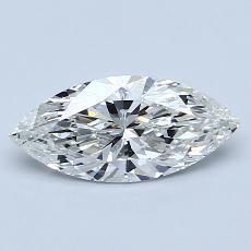 Current Stone: 1.01-Carat Marquise Cut