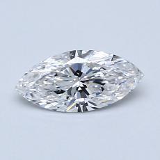 Pierre recommandée n°4: Diamant taille princesse 0,50 carat