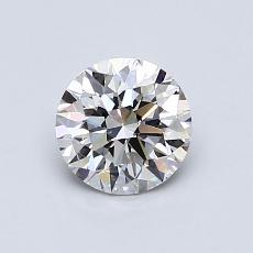 0.75 Carat 圓形 Diamond 理想 G VS1