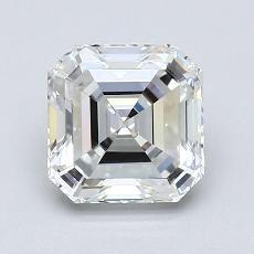 Pierre recommandée n°1: Diamant taille Asscher 1,53 carat