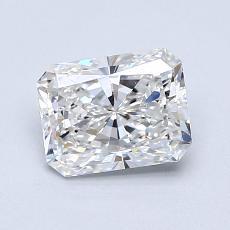 1,01 Carat Radiant Diamond Très bonne F IF
