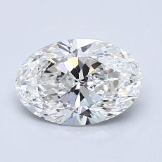 Recommended Stone #2: 1.08-Carat Oval Cut Diamond