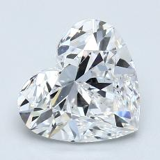 Recommended Stone #3: 2.30-Carat Heart Cut Diamond
