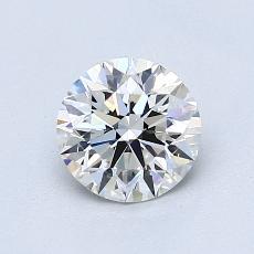0.90 Carat 圆形 Diamond 理想 G VS1