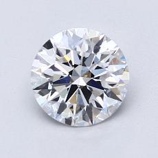 推薦鑽石 #4: 1.17 克拉圓形切割鑽石
