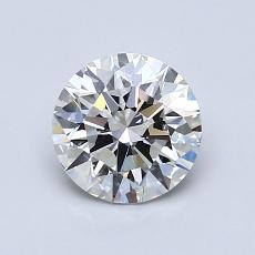 1,01-Carat Round Diamond Ideal H VVS2