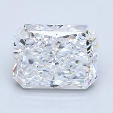 Pierre recommandée n°3: Diamant taille radiant 2,01 carats
