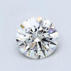 1.01 Carat 圆形 Diamond 理想 I VVS1