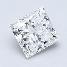Recommended Stone #2: 1,19-Carat Princess Cut Diamond